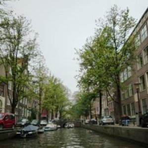 A Canal In Central Amsterdam