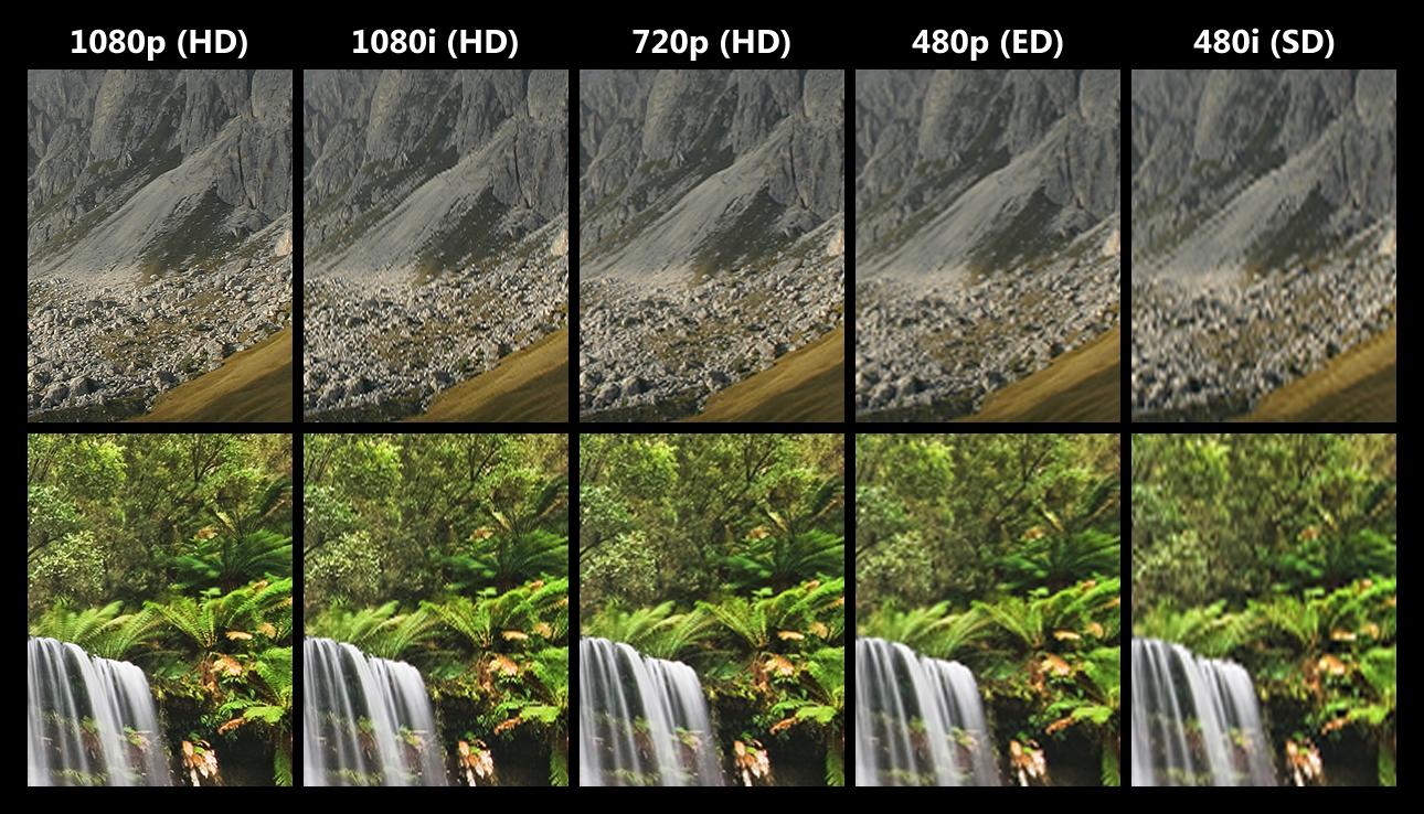 Quelles diff rences entre le 720p 900p et 1080p les images news - Difference entre les cookeo ...