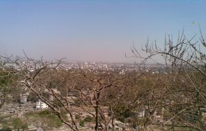 A view of Pune from Parvati
