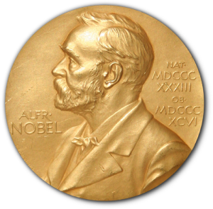 Nobel Prize (image credit: Wikipedia)