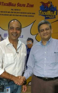 Good discussion with Munesh Makhija (Head of GE, ITC)