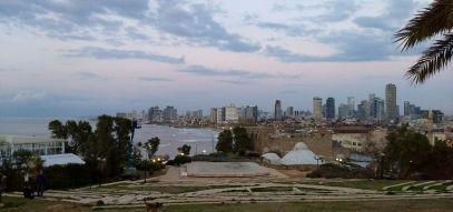 Tel Aviv Skyline from Old Jaffa